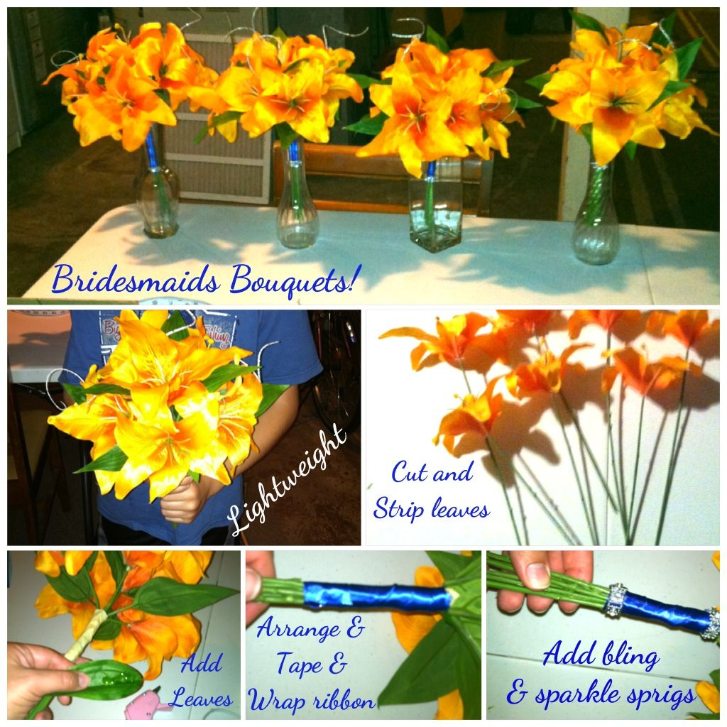 A bushel of silk lilies at Walmart is $3.00 and after looking at my ...