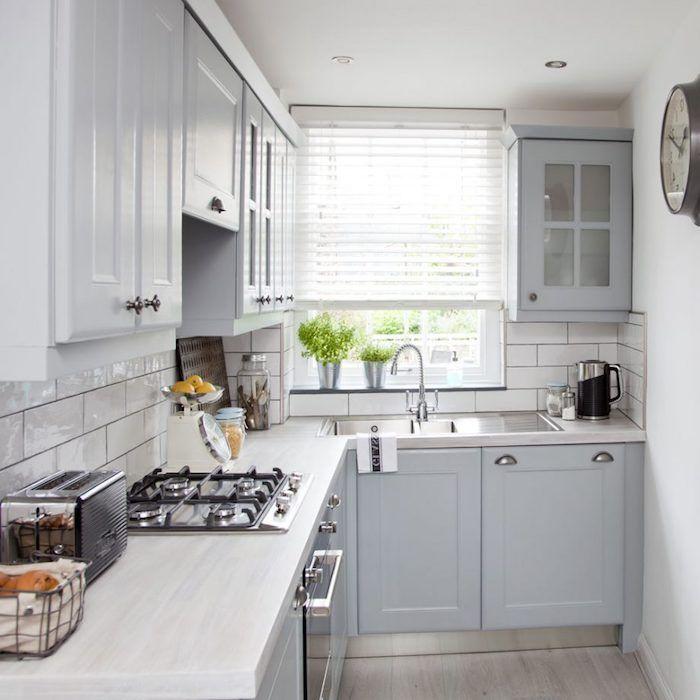 ▷ 1001 + astuces et idées pour aménager une cuisine en L - meuble bas cuisine avec plan de travail