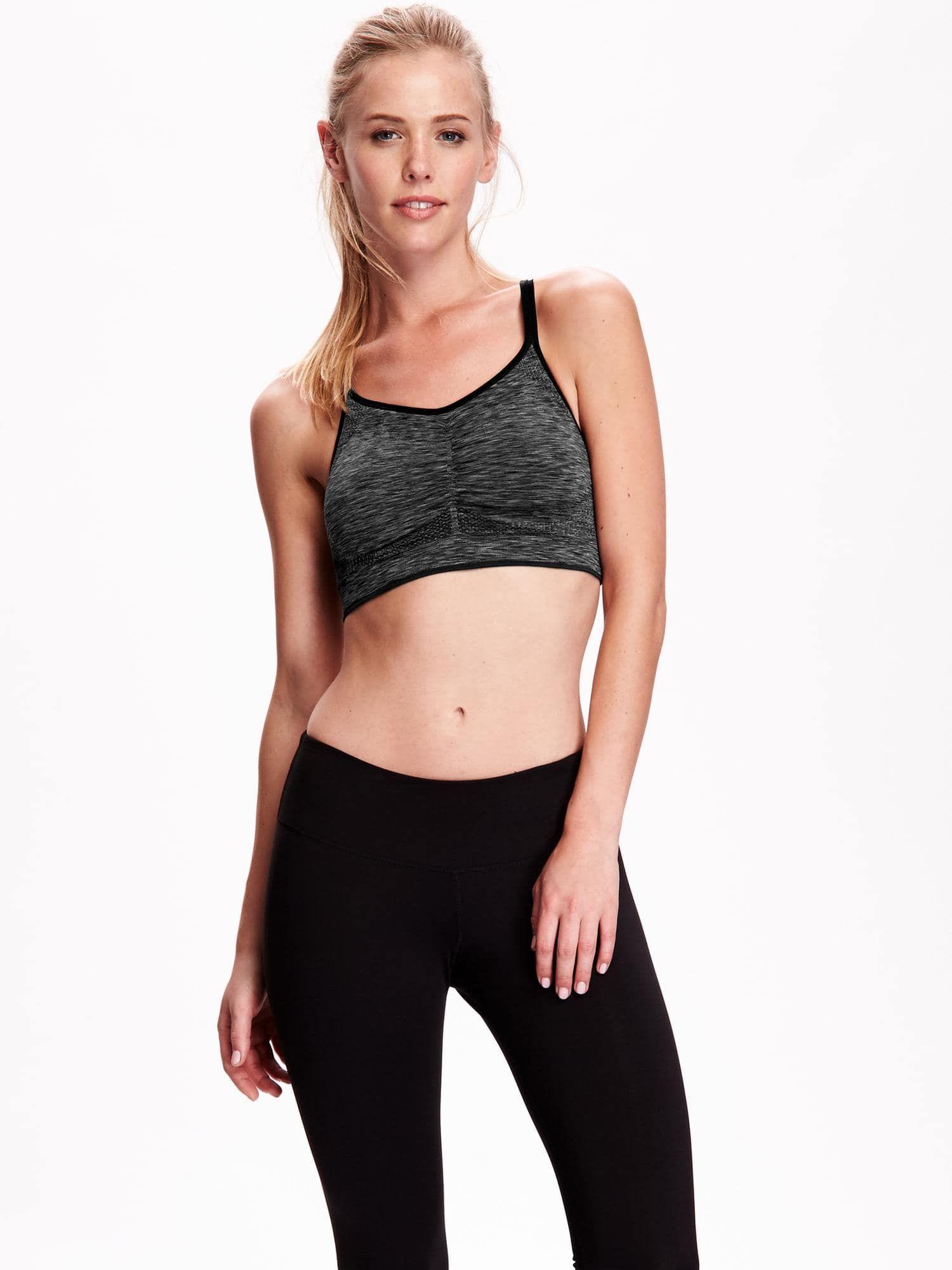 Seamless Light Support Sports Bra for Women Bra, Fashion