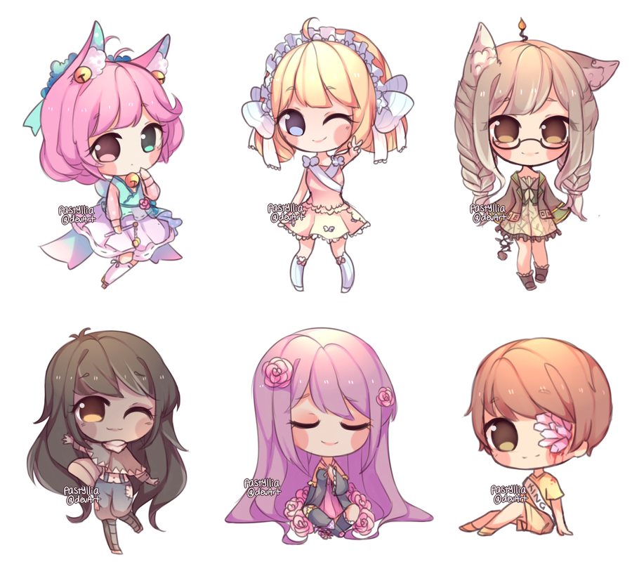 Chibi Batch [3] by pastyllia Chibi, Anime