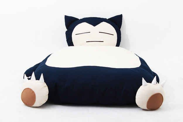 Yep That S A Custom Made Snorlax Bed With Images