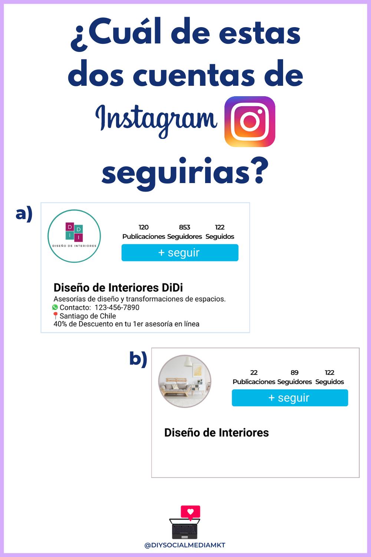 Tu Perfil De Negocios En Instagram Debe Ser Como Una Tarjeta De Presentacion Map Map Screenshot