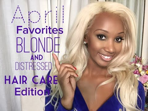 OMG Products For Damaged, Dry, Bleached or Blonde Hair!!!!! - YouTube