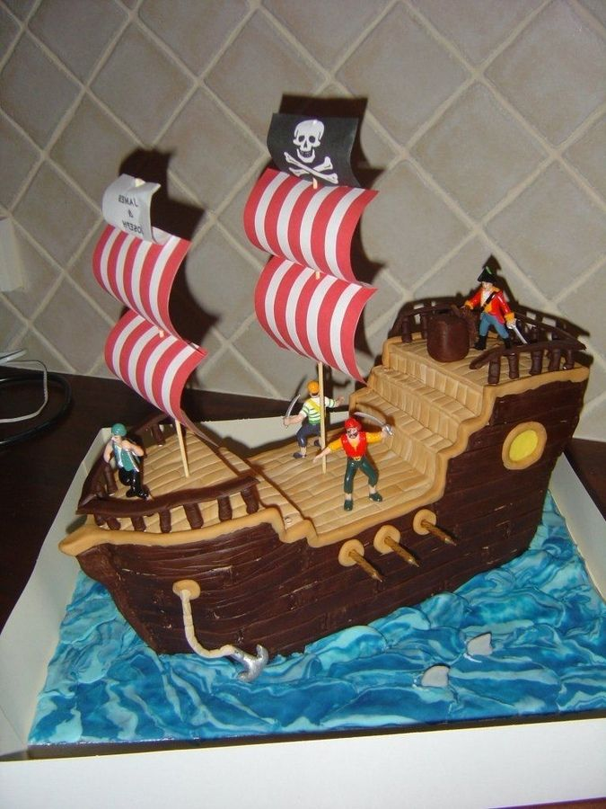 Pirate Birthday Cake Ideas For Boys Pirate Birthday Cake Unique