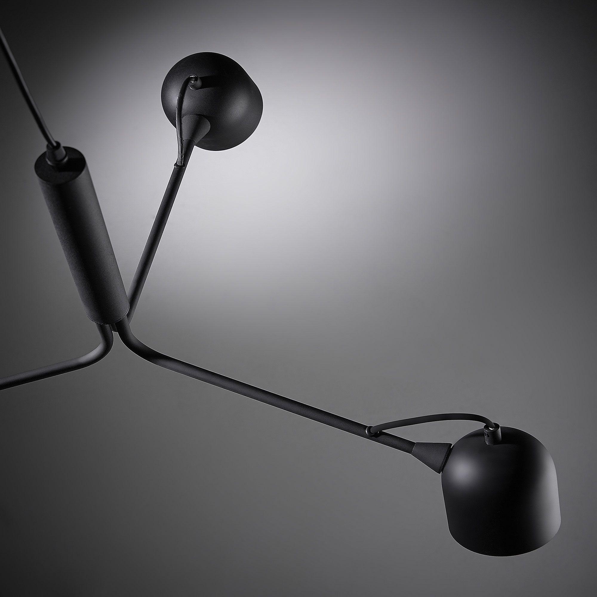 Kave Home Lámpara de techo..., en Madera,Metal - Negro #gedecktertisch