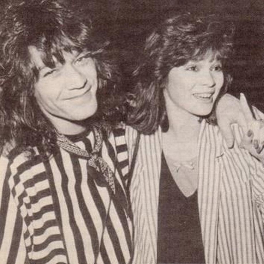 Eddie And Valerie Van Halen Eddie Van Halen Valerie Bertinelli