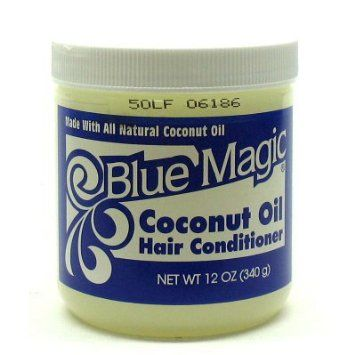 Amazon Com Blue Magic Coconut Oil Hair Conditioner 12 Oz