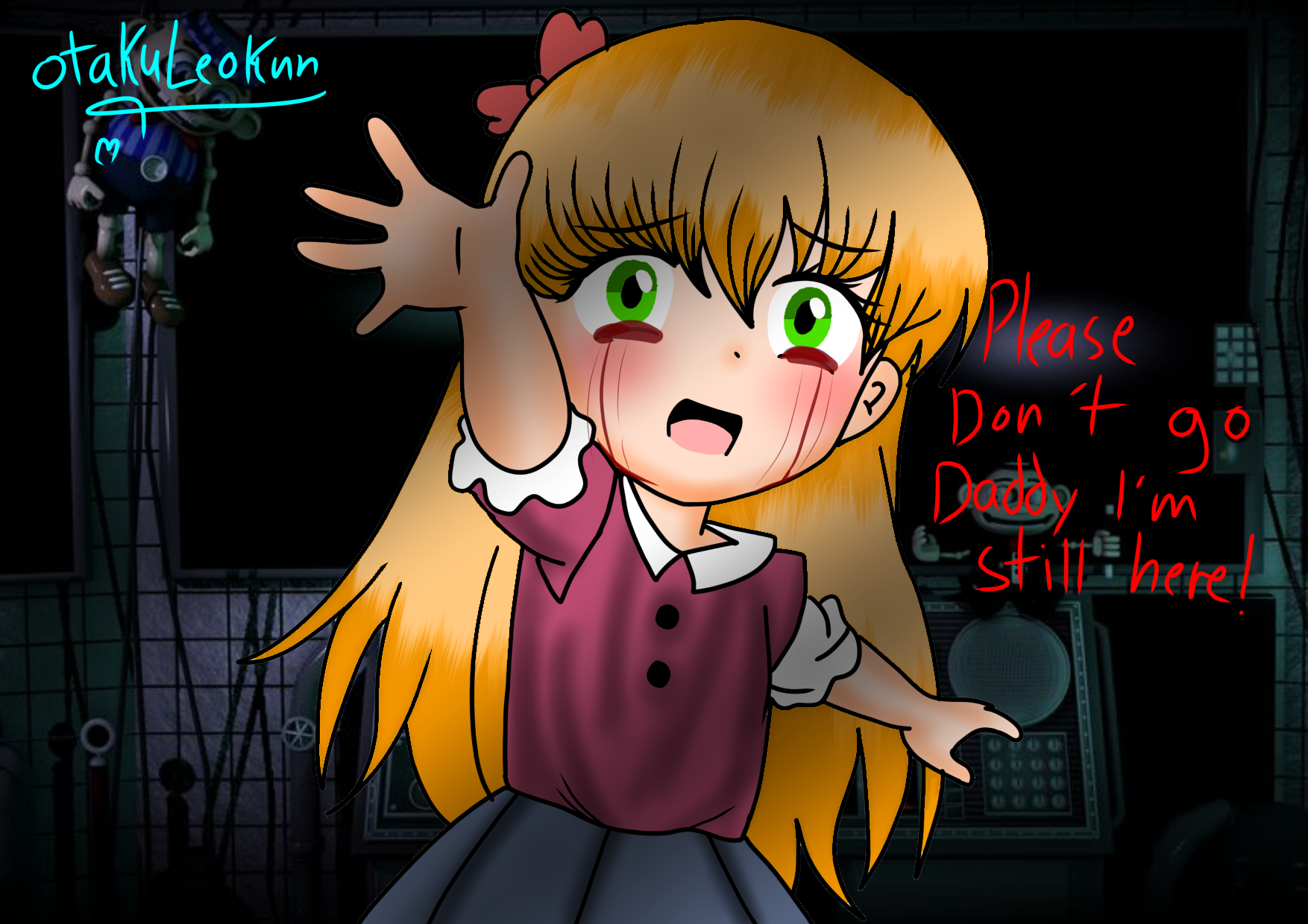 Fnaf Eliza Afton In 2020 Fnaf Drawings Anime Fnaf Fnaf