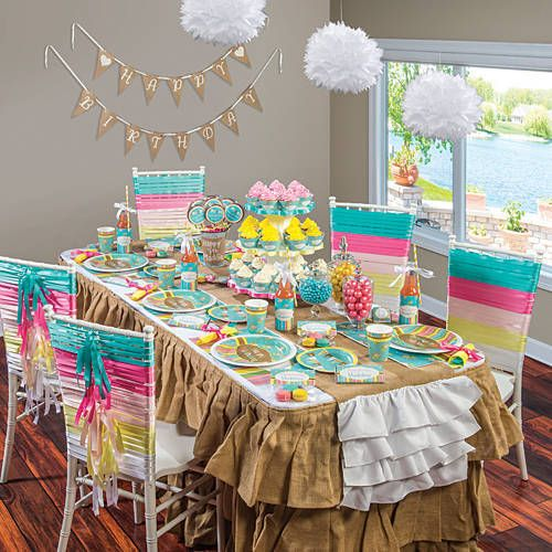 Sugar and Spice Party Supplies LITTLE GIRLS BIRTHDAY PARTY