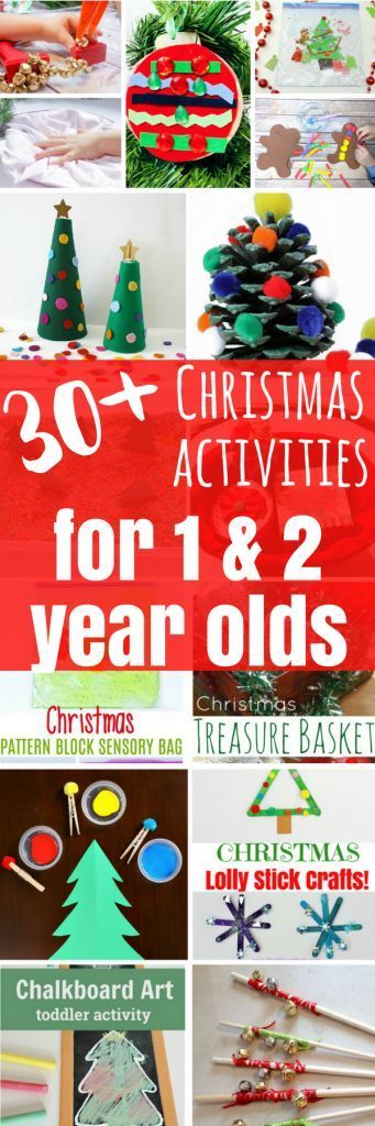 30+ Christmas Activities for 1 and 2 Year Olds