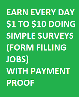 Legit Way To Earn From Surveys Form Filling Jobs Data Entry Jobs Extra Money Jobs Earn Money From Home