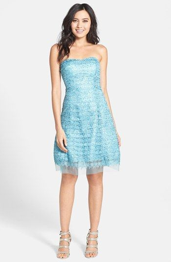 Hailey By Adrianna Papell Lace Fit Flare Dress Nordstrom To Do