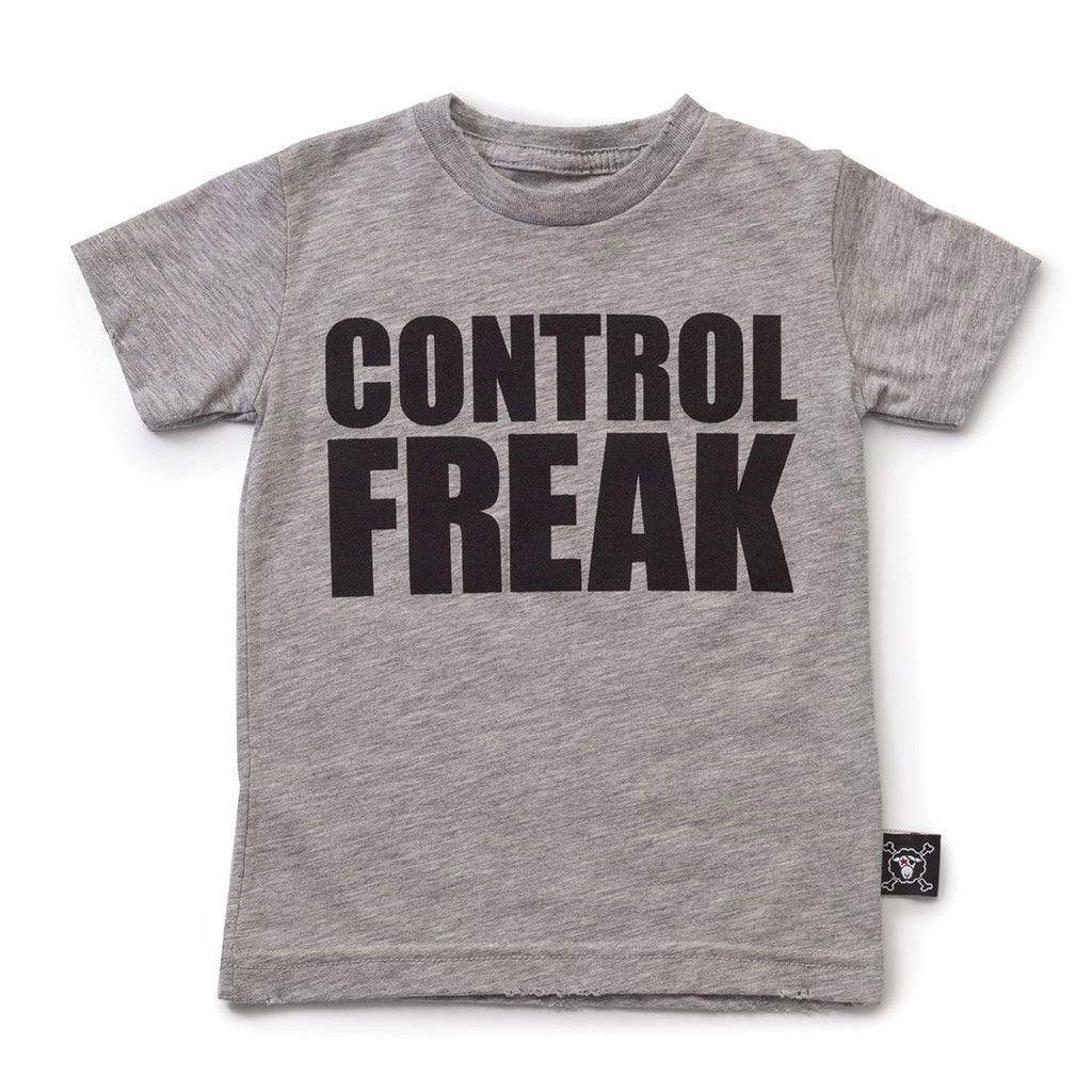 Control Freak T-shirt Gray