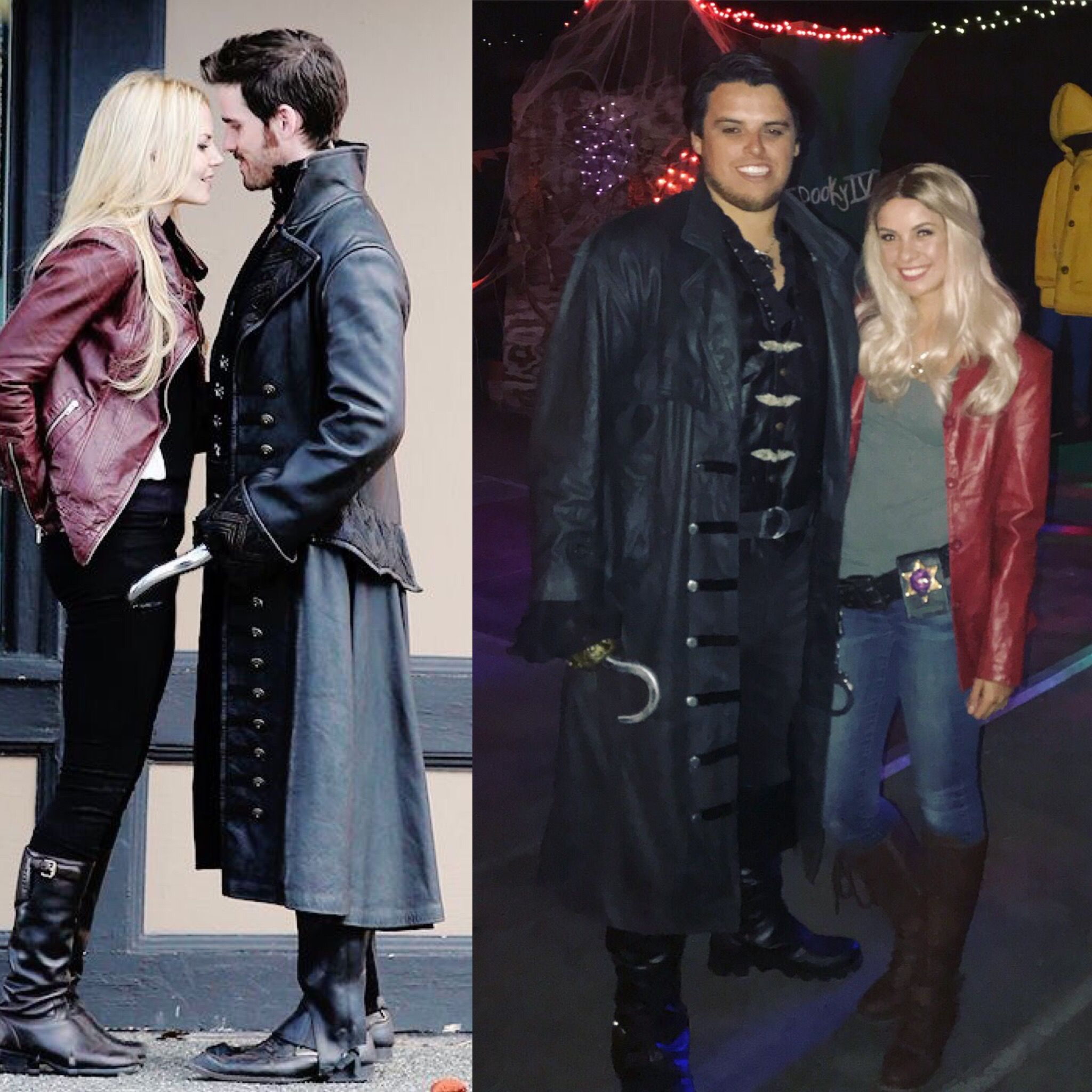 d52ec80f4 Once Upon a Time costume. Captain Hook & Emma Swan | Halloween ...