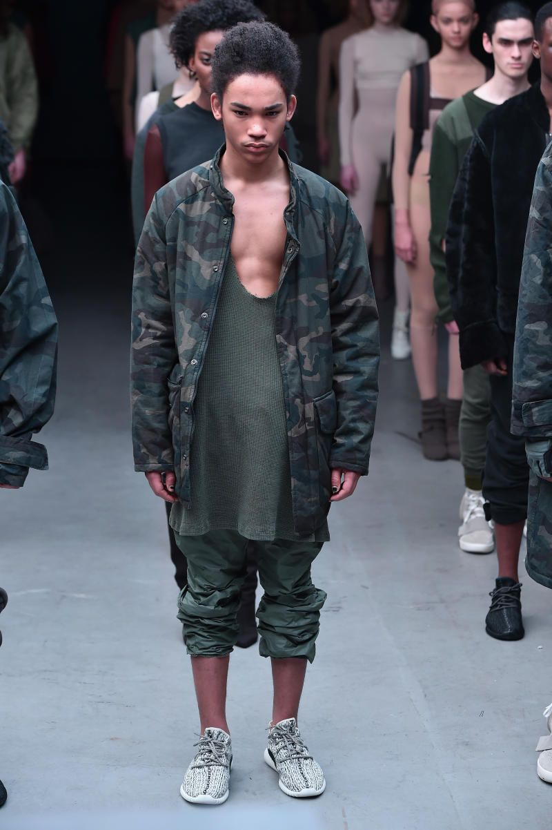 7c19fe7df See pictures of the entire Kanye West x adidas debut collection at New York  Fashion Week.