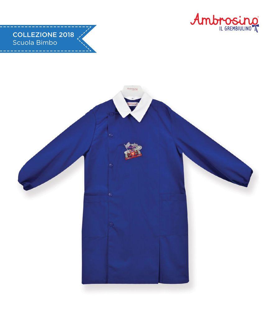 Ambrosino Il Grembiule.Grembiule Scuola Ambrosino H207 Bluette Bambino Ebay