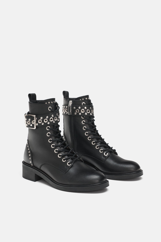 9c716a3d509f5 BOTÍN PIEL TACHAS v roku 2019 | Clenkova obuv | Leather ankle boots ...
