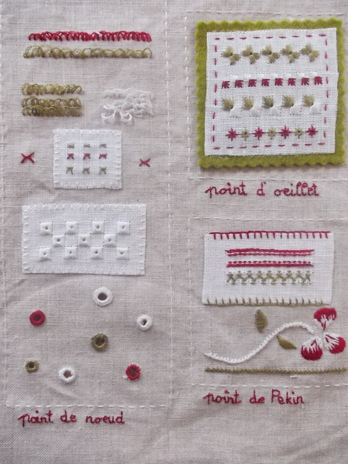 Anjas wunschpunsch stitches pinterest embroidery stitch