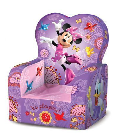 Marshmallow   High Back Chair   Disneyu0027s Minnie Mouse For Sale At Walmart  Canada. Find
