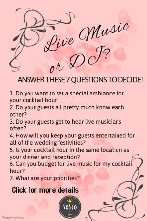 Should You Have Live Music Or Just A DJ For Your Wedding Ceremony
