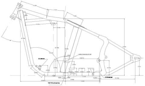 Mechwerks Plans And Drawings For Choppers And Custom Motorcycle Fabrication Motorcycle Frames Chopper Motorcycle Design