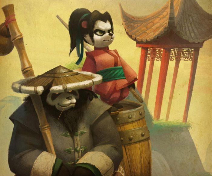 Li Li Hero Week Blogs Blue Tracker Warcraft Art Heroes Of The Storm World Of Warcraft