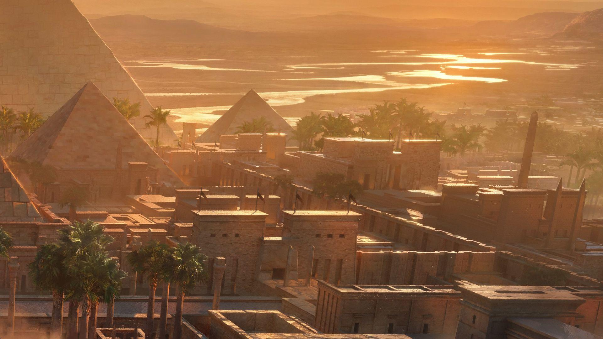 ArtStation - Egypt KitBash3d Cover, Jonas De Ro | Artwork