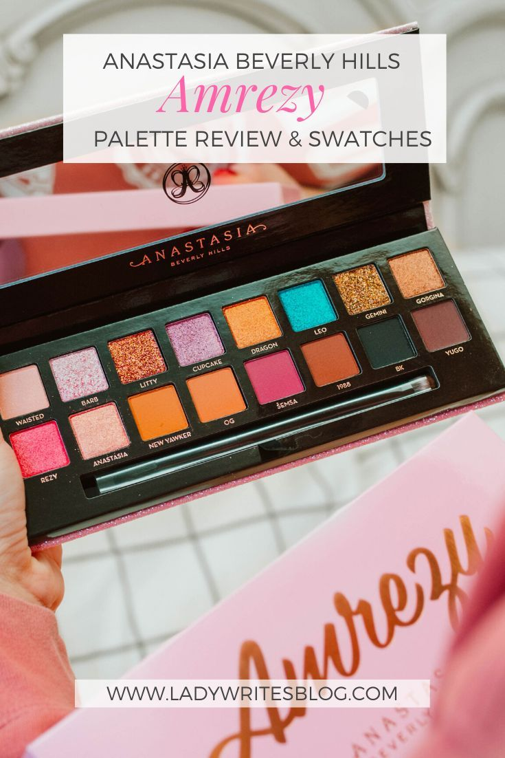 Anastasia Beverly Hills Amrezy Palette Review & Swatches