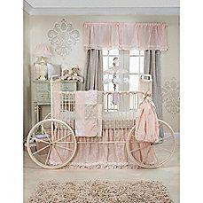 Glenna Jean Contessa Crib Bedding Collection Love stencil idea on the wall