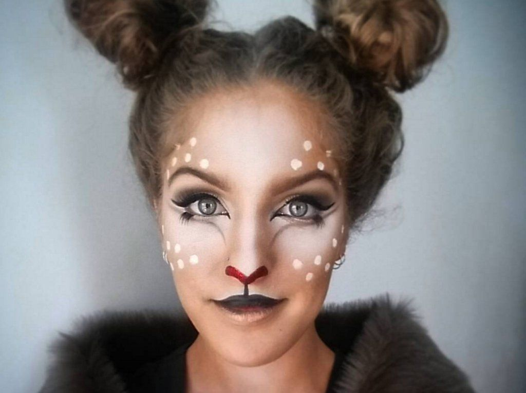 ... try these deer makeup ideas for ...  sc 1 st  Makeup Vidalondon & Deer Costume Makeup Ideas - Makeup Vidalondon