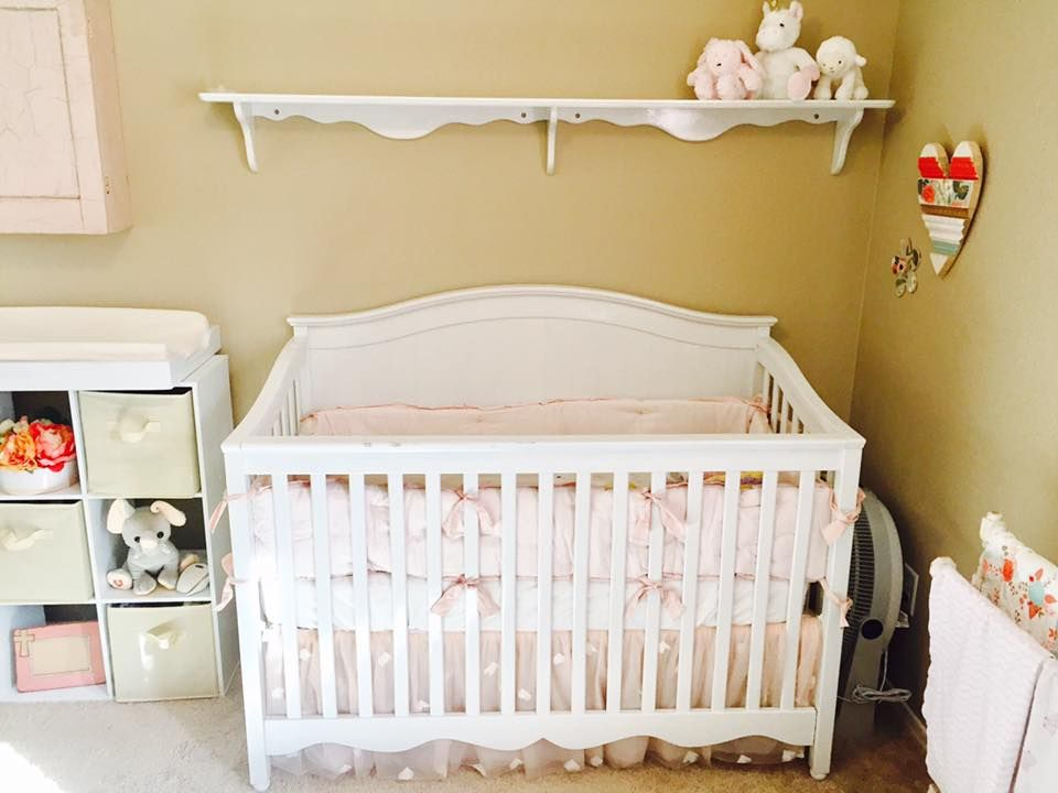 Crib Bumper Skirt And Sheet Set From Pottery Barn Kids Monique