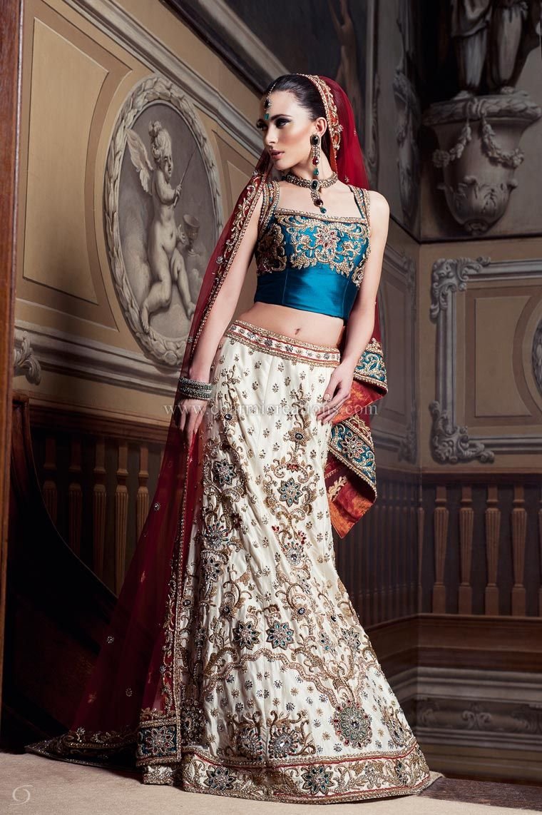 Indian Bridal Wear Asian Wedding Outfits Dresses Lenghas Lengha Choli London Uk