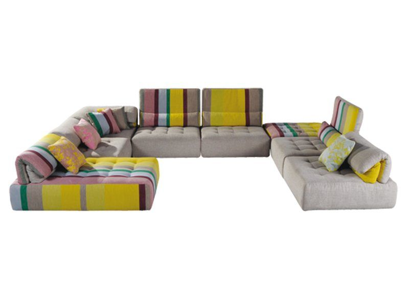 SECTIONAL SOFA WITH REMOVABLE COVER VOYAGE IMMOBILE LES CONTEMPORAINES COLLECTION BY ROCHE BOBOIS  sc 1 st  Pinterest : roche bobois sectional sofa - Sectionals, Sofas & Couches
