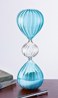 Decorative Hourgl30 Minute Sand Timer From Collections Etc