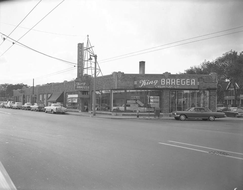 Chevy dealership circa 1962 Chevy dealerships, Milwaukee