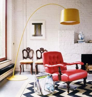 best floor lamp ever. I love large scale pieces   Interiors I Dream ...