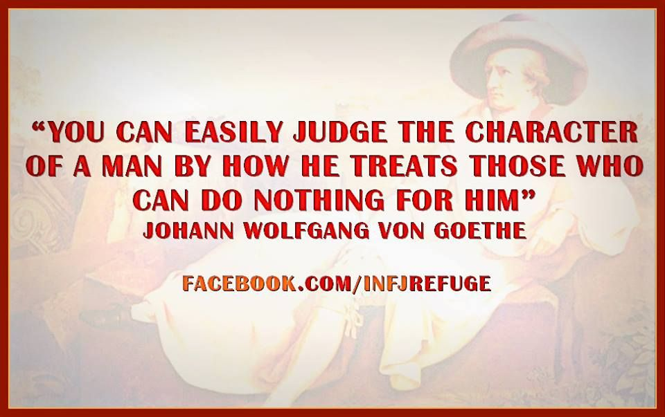 INFJs & THEIR QUOTES: JOHANN WOLFGANG VON GOETHE FOR MORE ...