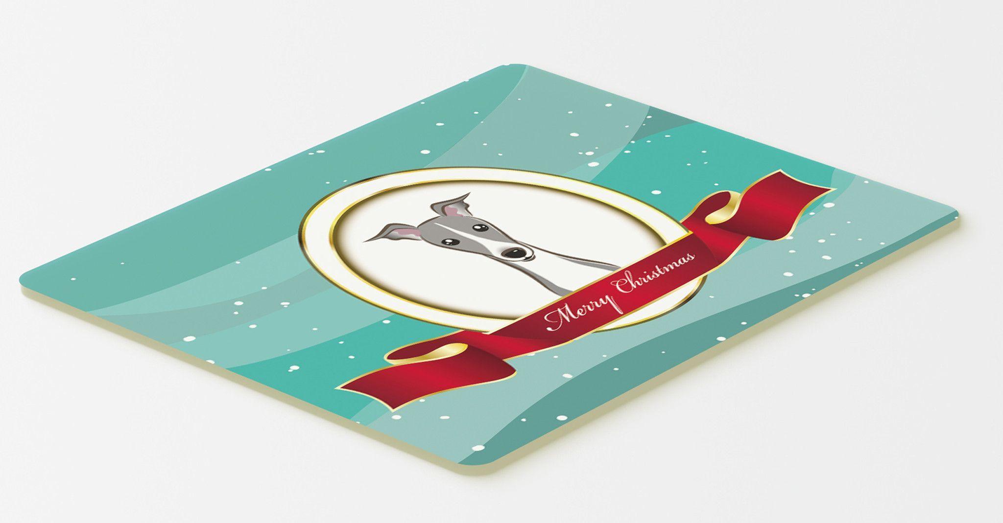 italian greyhound merry christmas kitchen or bath mat 20x30