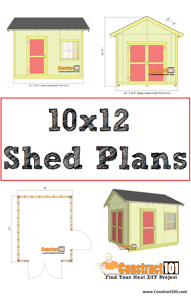 Free Shed Plans With Drawings Material List Free Pdf Download Free Shed Plans Shed Plans Small Shed Plans