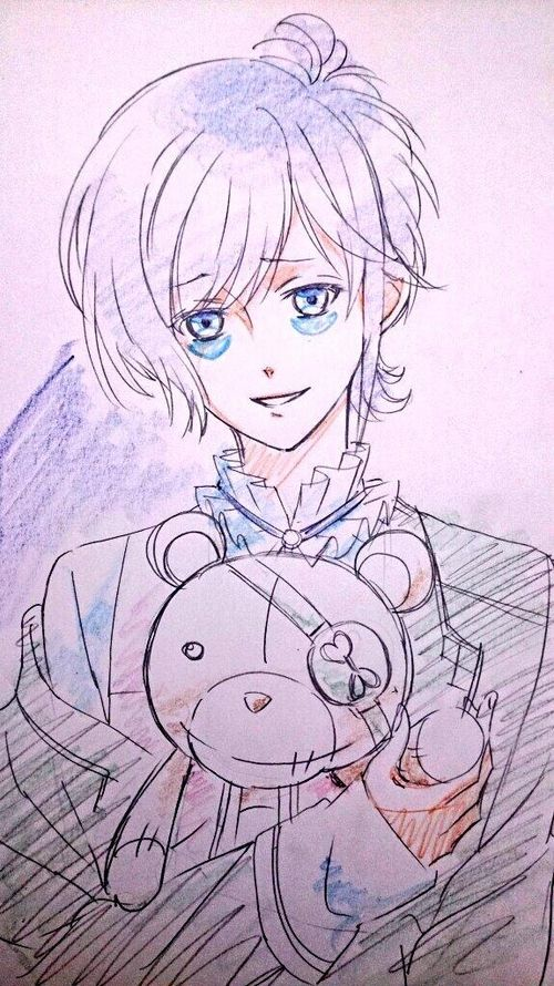 kanato sakamaki diabolik lovers credit to the artist