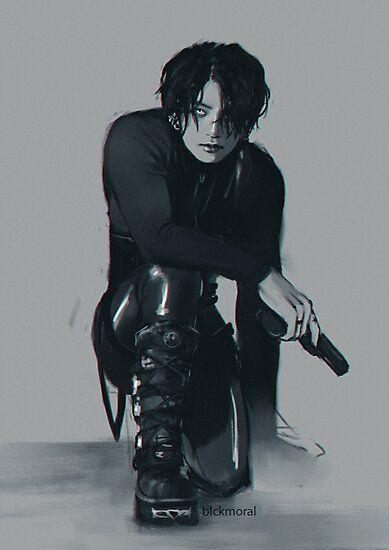 Photo of BTS Jungkook Underworld Photographic Print