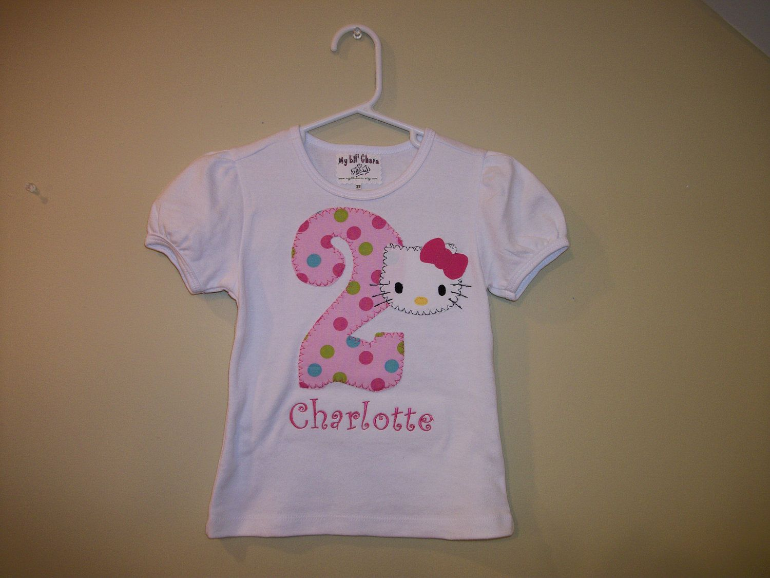 For Nat Hello Kitty Birthday T Shirt With Name