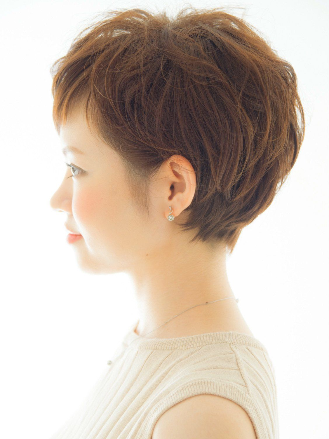 30代40代 大人女性に人気ショート 髪型ショートヘア ヘア