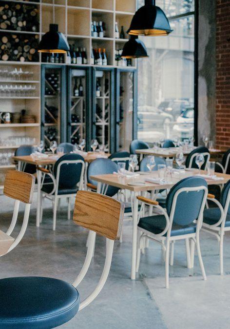 contemporary restaurant hoogan et beaufort montreal 2015 appareil architecture
