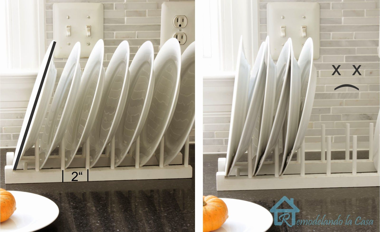 Easy to Build Plate Rack : plate rack display - pezcame.com