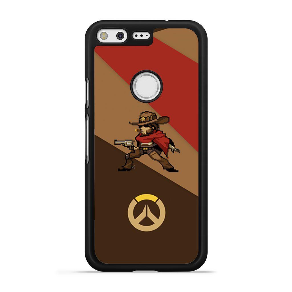 Overwatch McCree Pixel Spray Pixel case