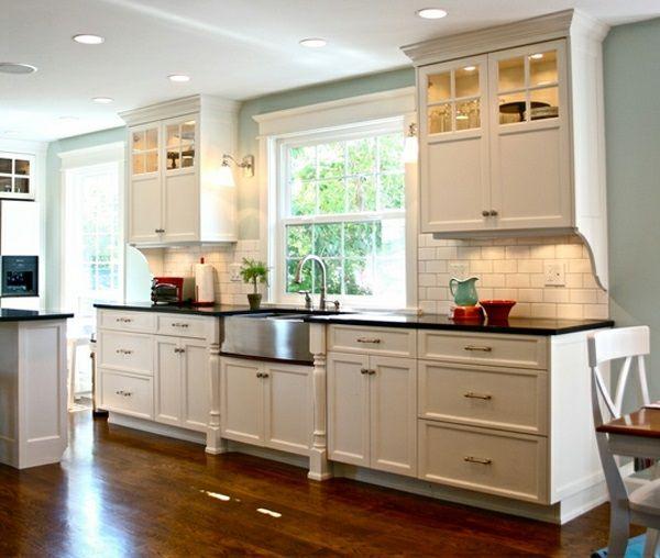 Traditionelle Weiße Landhausküche   15 Coole Wohnideen