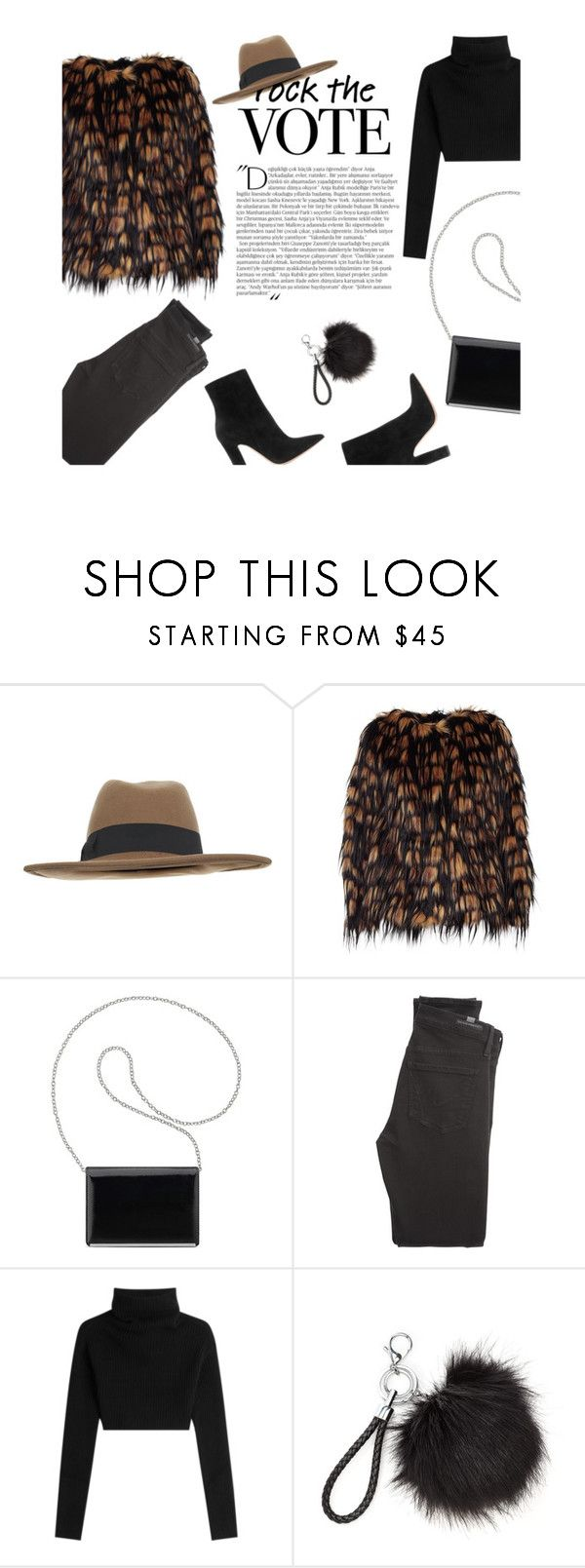 """Cozy Vote"" by modernbovary ❤ liked on Polyvore featuring Balmain, Miss Selfridge, Dries Van Noten, Nine West, Citizens of Humanity, Valentino, Gianvito Rossi, polyvoreeditorial, polyvorecontest and rockthevote"