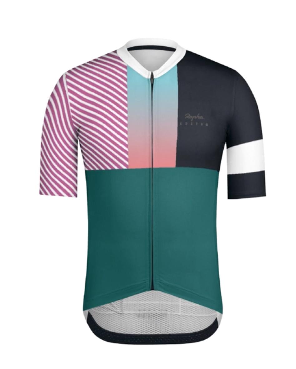 Vanguard Short Sleeve Mens Cycling Running Sports Base Layer in Black