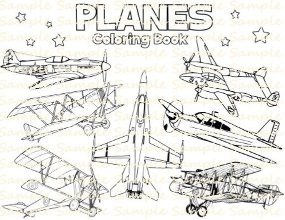 73 Top Airplane Coloring Pages Pdf  Images